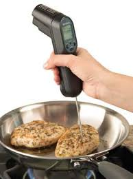 termometre cuisine bonjour chef s tools combo laser and probe cooking thermometer