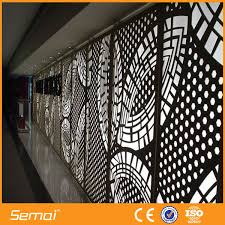 Semai High Quality Lowes Sheet Metal Decorative Perforated Sheet