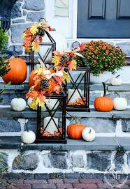 Outdoor Fall Decor Ideas - outdoor fall decorating ideas to kick off the holiday season