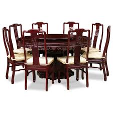 Round Dining Sets For 8 Chair Round Dining Table For 8 Decofurnish Chinese Set Up Wood