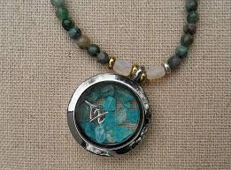 floating pendant necklace images Natural apatite with topaz floating pendant necklace grab some jpg