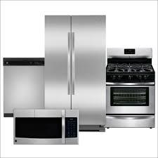 Cool Kitchen Appliances by Kitchen Lowes 4 Piece Appliance Package Black Kitchen Bundles