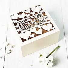 wedding keepsake box wedding keepsake and memory boxes notonthehighstreet