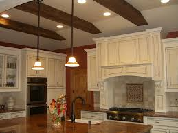 interior fantastic kitchen decoration with solid cherry wood