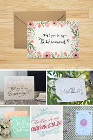 Cards To Ask Bridesmaids Ask Your Girlfriend To Be You Bridesmaid In Style With These Free
