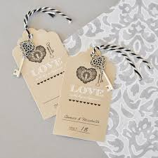 Vintage Table Number Holders Key To Happiness Escort Place Cards
