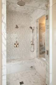 vibrant transitional master bathroom robeson design