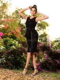 black bridesmaid dresses little black bridesmaid gowns online