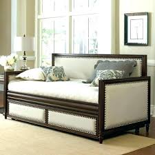 Day Bed Frames Daybed Frames S Metal Daybed With Trundle White Findables Me