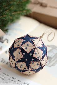 15 diy ornaments made by fabric