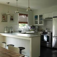kitchen peninsula ideas small kitchen peninsula design ideas