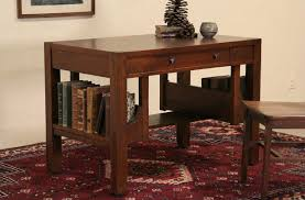 sold arts u0026 crafts mission oak 1905 antique library table