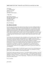 internship covering letter adorable resume for healthcare internship on registered