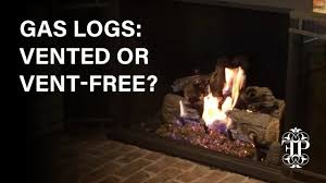 gas logs vented or vent free how to tell the difference and