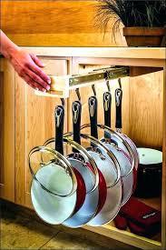 kitchen pan storage ideas cookware storage ideas kitchen pan storage ideas size of