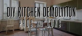 Interior Demolition Contractors Pros And Cons Of Diy Kitchen Remodel Hometown Demolition Contractors