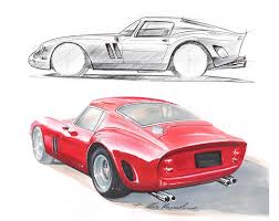 ferrari sketch classic motorsports part 1 2012 supercar sketches gallery