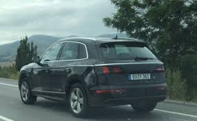 audi q5 facelift release date india bound generation audi q5 spotted almost undisguised
