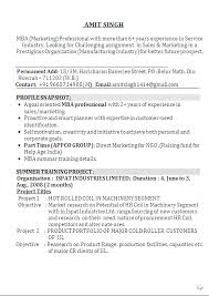 Mba Marketing Fresher Resume Sample Cover Letter For An Application Form Research Attorney Cover