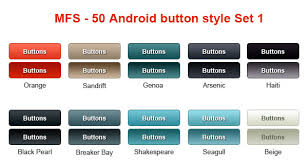 android image button how to customize button in android without using image stack