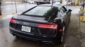 Audi R8 2017 - 2017 audi r8 v10 looking fabulous at new jersey gas station