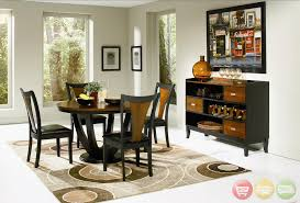 Modern Round Dining Room Sets Modern Dining Room By Bella Home Decorating Decorate Like A