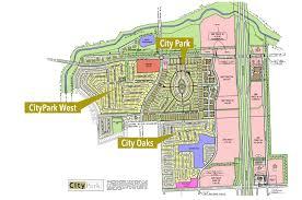 Park West Floor Plan by Master Plan City Park