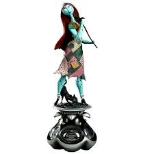 nightmare before sally animated statue electric
