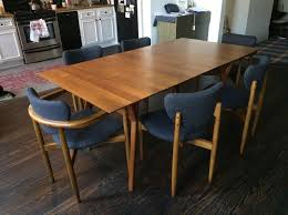 mid century expandable dining table west elm mid century expandable dining table set in flushing