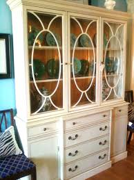 Thomasville Dining Room China Cabinet Oak Sets With Used Hutch