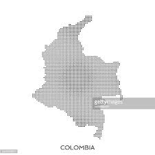 colombia map vector colombia vector and graphics getty images