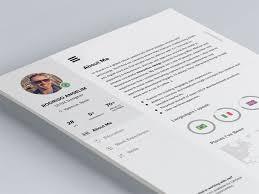 designer resume templates 2 28 free cv resume templates html psd indesign web
