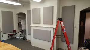absorptive panels acoustics first blog