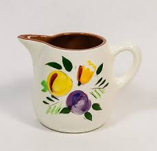 stangl pottery fruit and flowers vtg stangl pottery fruit flowers small 3 5 2 cup pitcher