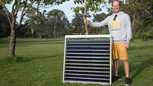 Solar Powered Window Blinds Solargaps Energy Generating Solar Panel Window Blinds By