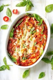 cheesy vegan pasta casserole best healthy traditional italian