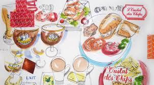 cuisine projet the food illustrator project food