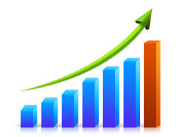 growing chart growth graph chart psd and png image download