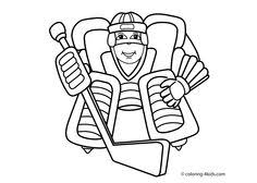 boy hockey player coloring page you can print out this hockey