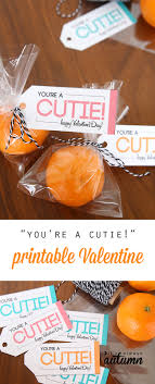 alternative valentines gifts you re a cutie free printable healthy valentine it s always autumn