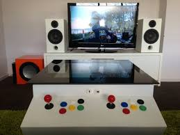 coffee table game console home made 2 player arcade coffee table ultimate coffee table youtube