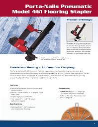 Engineered Flooring Stapler Catalog 09