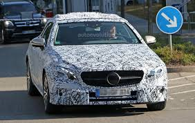 spyshots 2018 mercedes benz e class cabriolet shows its grille