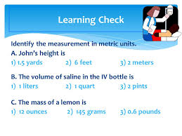introduction to the metric system ppt download