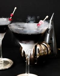 martini halloween black magic martini a spooky halloween beverage