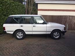 land rover voque used land rover range rover white for sale motors co uk