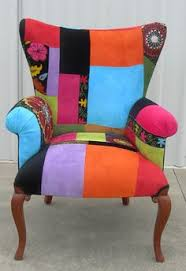 Patchwork Upholstered Furniture - a statement with a patchwork armchair 3 furniture