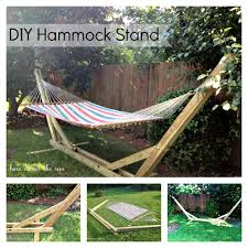 Hammock Backyard Diy Backyard Hammock Stand