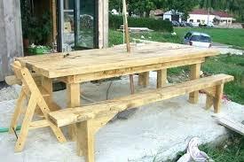 fabriquer sa table de cuisine comment fabriquer une table en bois table 1 comment faire une table