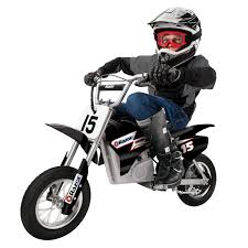 razor mx400 dirt rocket electric motorcycle bike black walmart com